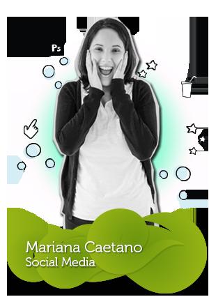 Equipe da C4SA - Mariana Caetano - Social Media