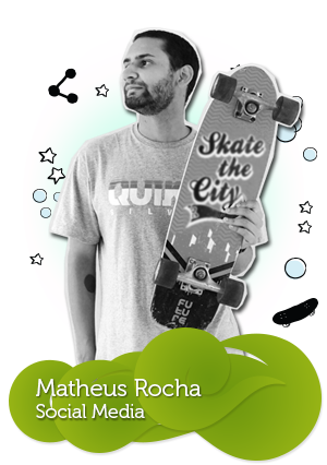 Equipe da C4SA - Matheus Rocha - Social Media