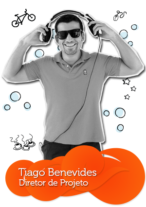 Equipe da C4SA - Tiago Benevides - Diretor de Projeto